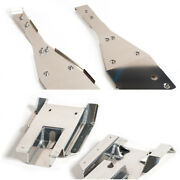 Xfr Full Chassis Glide And Swing Arm Skid Plate Gaurd Combo Yamaha Raptor 660 660r