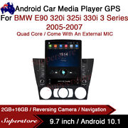 9.7andrdquo Android 10.1 Car Stereo Non Dvd Gps Usb Head Unit For Bmw E90 3 Series