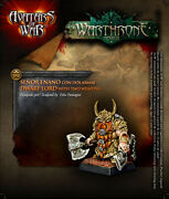 Avatars Of War Dwarf Thane With Paired Weapons Aow31 Fantasy 28mm Dwarves