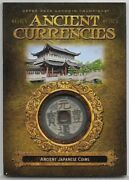 2019 Goodwin Champions Ancient Japanese Coin Ancient Currencies Relic