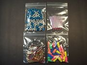 500000 Small Zip Lock Bags 1.75 X 1.75 Clear Plastic Recloseable 2mil Jewelry