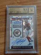 2019 Contenders Cracked Ice Dwayne Haskins /23 Auto Rc Bgs 9.5/10