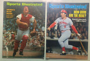 Johnny Bench Sports Illustrated Nov 1976 And July 1970 - Cincinnati Reds