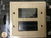 Somerset Dbl Interrupentue Switch Cover Wall Plate Natural Stone Sienna