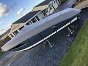 Boat Cover New Fits Cranchi Endurance 30. Full Winter Cover Water Or Trailer.