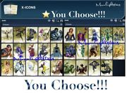 Topps Marvel Collect X-icons Gold - You Choose Digital