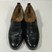 Ariat Ats Equipped Black Leather Slip On Shoes Womenand039s Sz 7