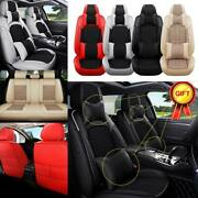5-sits Suv Car Seat Covers Interior Top Pu Leather Accessories Cushion Universal