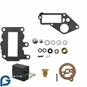 Fit For Johnson Evinrude 9.5 Hp Brp Omc Systematched Carburetor Kit 1964 - 1973