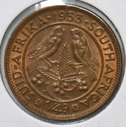 South Africa 1953 1/4 Penny 191857 Combine Shipping