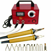 110v 100w Laser Pyrography Machine Gourd Wood Crafts Burning Tool Kit With 2 Pen