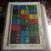Lot Of Three 3 1967 Topps Dopey Books Uncut Proof Sheets 22x30 Each Wh Coa's