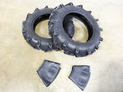 Two New 8-18 Duramax Ag Lug Compact Tractor Tires 6 Ply With Tubes
