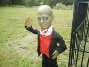 Animated 3 Foot Mini-me The Butler Halloween Prop As-is