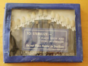 Vintage Dental Tooth Shade Guide Excellent 1940and039s Complete Ships Free To Us