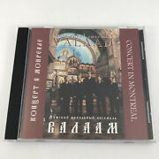 Valaam Male Vocal Ensemble Concert In Montreal Cd 2003