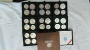 1976 Silver Canadian Montreal Olympic Games 28 Coin Set 30 Oz. Total