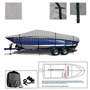 Bass Tracker Pro 17 With Port Troll Motor Trailerable Fishing Boat Cover