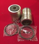 Detroit Diesel 2-53 3-53 Lube Oil Filter Element Replaces Pf147 23532888 2 Pack