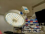 Examination Ot Lights Surgical Operating Lamp Theater Intensity 160000 Andplusmn10 And