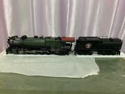 Challenger Imports Cil Brass Gn Class Q-1 2-10-2 Steam Locomotive And Tender