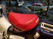 Rear Replacement Seat Short Mini Cafe Racer Red For Honda Super Cub C125 18-20