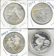 1983-p 1983 S1988s Olympic And 1994s World Cup Silver Free Shipping