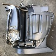 """Yamaha 250 Hp F250txr 2006 25"""" Outboard Engine Motor Exhaust Midsection 330 Hrs"""