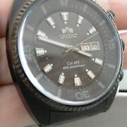 Rare Brand New Orient 40th Anniversary Limited Edition Pvd W/ Days In Japanese