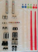 Star Wars Build Your Own Ultimate Lightsaber Hasbro 2005 Two 100 Complete Sets