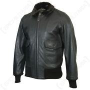 Ww2 Reproduction American Navy And Marine Corps Us G1 Leather Jacket - All Sizes
