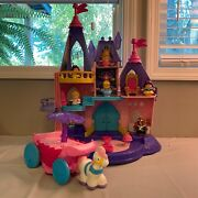 Fisher Price Little People Disney Princess Songs Palace Castle Carriage Figures