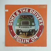 Duke And The Drivers Rollin' On Abcd942 Demo Lp Vinyl Vg+ Near ++ Cover Vg Woc Wol