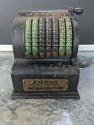 Antique American Adding Machine American Can Co Chicago Ill. Pat.date 1912