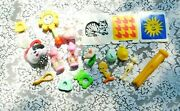 16 Piece Mostly Vintage 1980's / 90's Baby Toys First Step Fisher Price More