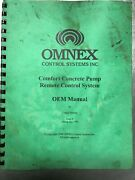 Schwing Omnex Control Systems Comfort Remote Control System Oem Manual