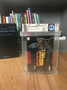 Ultima The Black Gate For Snes Wata Graded 9.0 A+ Highest Graded Copy