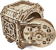 Geared Safe 3d Wooden Puzzles For Adults Model Mechanical Assembling Wood Trick