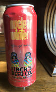 Finch's Beer Nuclear Winter Belgian Dark Ale Beer Tap Handle Gas Mask Chicago Il