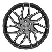 4 Hp2 18 Inch Black Tint Rims Fits Ford Focus Electric 2013 - 2020