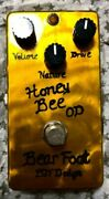 Bear Foot Bjf Design Honey Bee Od Overdrive Guitar Effector Effects Pedal Used