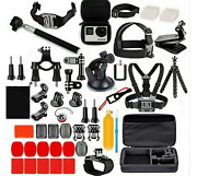 Gopro Hero Action Camera Accessories 77 In 1 Kit For Gopro 98 7 6 5 4. Case