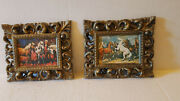 Vintage Horse Display Picture Lot 1960and039s Plastic