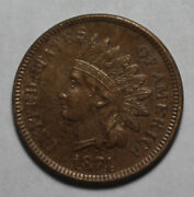 1874 Indian Head Cent Pm296