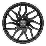 4 Hp2 20 Inch Staggered Gloss Black Rims Fits Ford Mustang V6 2015 - 2020