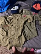 Vintage Boy Scout Patch Others On Original Uniforms Shirts And Hats