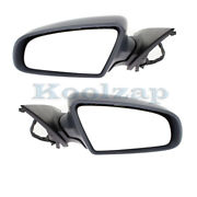 05-08 A6, 07-08 S6 Rear View Mirror Assembly Power Heat W/puddle Lamp Set Pair