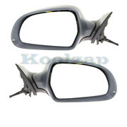 09-11 A6/s6 Rear View Mirror Assembly Power Heat W/memory Signal Lamp Set Pair