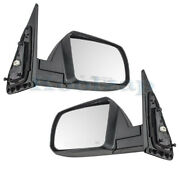 For 14-17 Sequoia Sr5 Rear View Mirror Power With Cold Climate Spec Set Pair