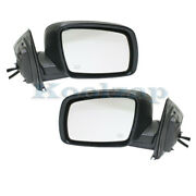 09-18 Journey W/o One Touch Rear View Mirror Assembly Power Heated Set Pair